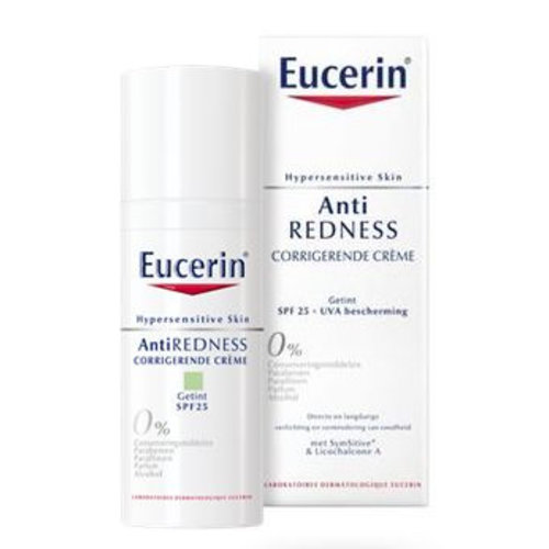 Eucerin Hypersensitive anti red corr cr lichte textuur (50ml)
