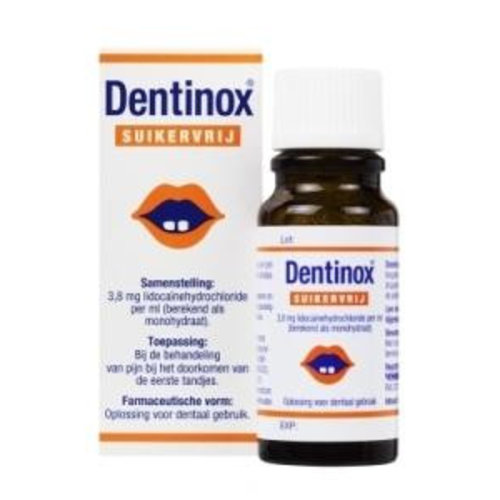 Vemedia Vemedia Dentinox suikervrij (9ml)