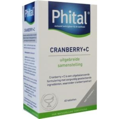 Phital Phital Cranberry & Vitamine C (60tb)
