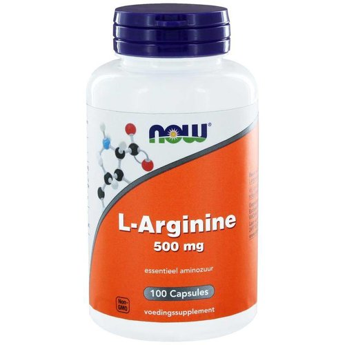 NOW NOW L-Arginine 500 mg (100ca)