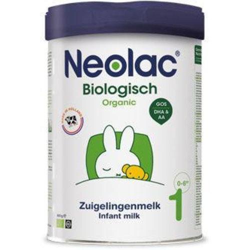 Neolac Organic Neolac Organic Zuigelingenmelk 1 bio (800g)