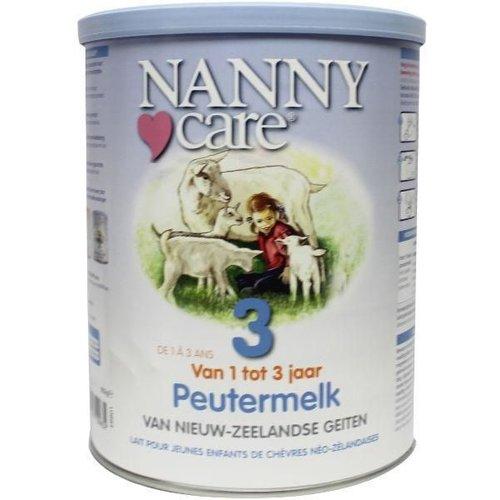 Nannycare Nannycare Nannycare peutergeitenmelk (900g)