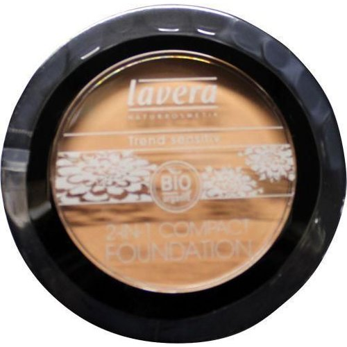 Lavera Lavera Compact foundation 2 in 1 ivory 01 (10g)