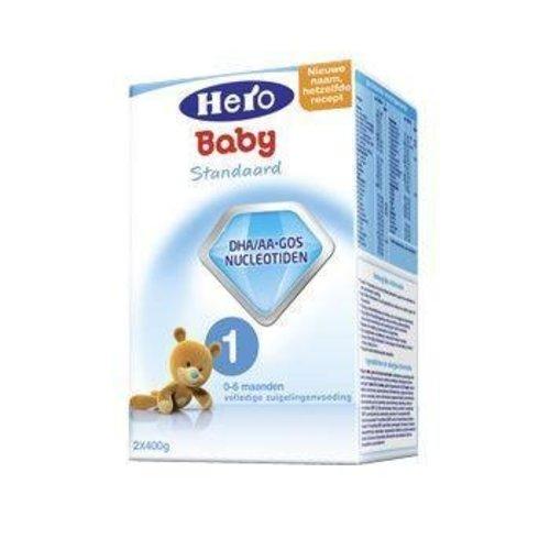 Hero Hero Hero 1 Zuigelingenvoeding standaard 400 gram (2x400g)
