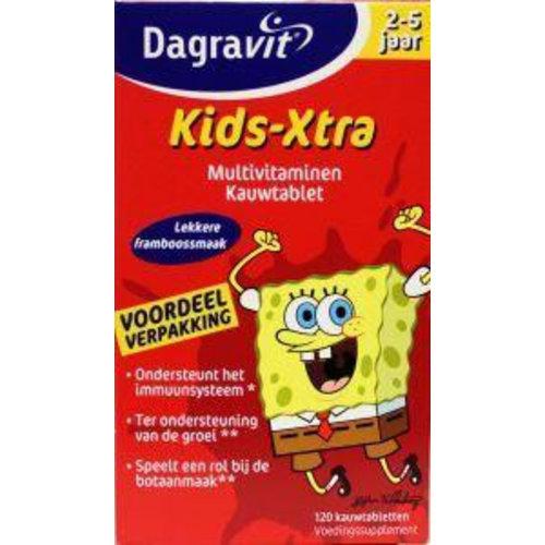 Dagravit Dagravit Multi kids framboos 2-5 jaar (120kt)