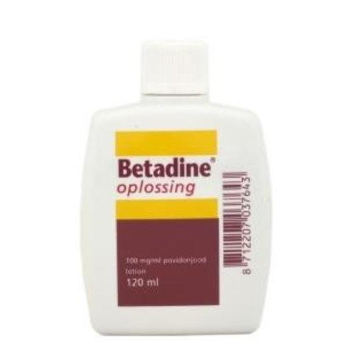 Betadine Jodium oplossing 100 mg/ml (120ml)