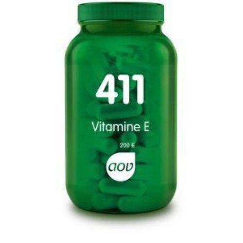 AOV AOV 411 Vitamine E 200IE natuurlijk (100ca)