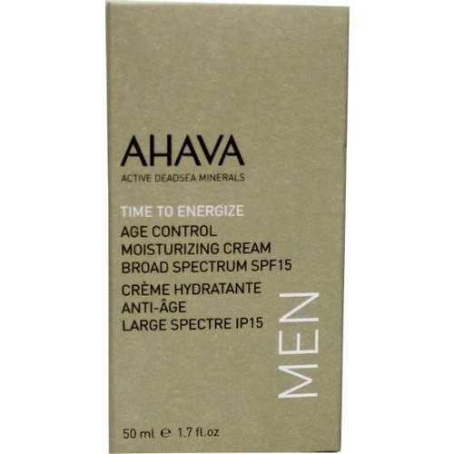 Ahava Ahava Men age control moisterizer SPF 15 (50ml)