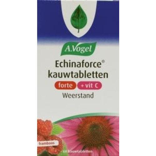 A Vogel A Vogel Echinaforce & vitamine C framboos forte (60kt)
