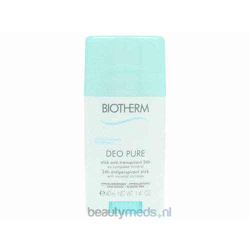 Biotherm Biotherm deo Pure Antiperspirant stick 24H (40ml)