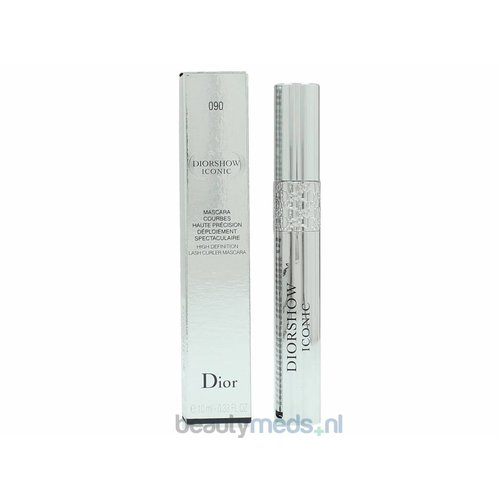 Dior Dior Diorshow Iconic Lash Curler Mascara (10ml) #090 Noir Black - High Definition
