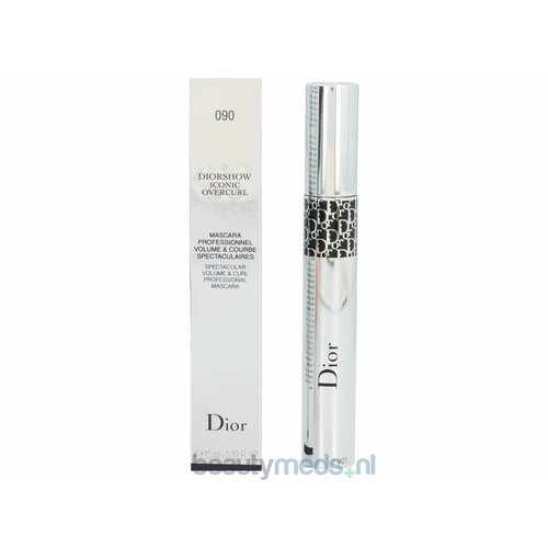 Dior Dior Diorshow Iconic Overcurl Volume Mascara (10ml) #090 Over Black - Spectaculair Volume & Curl