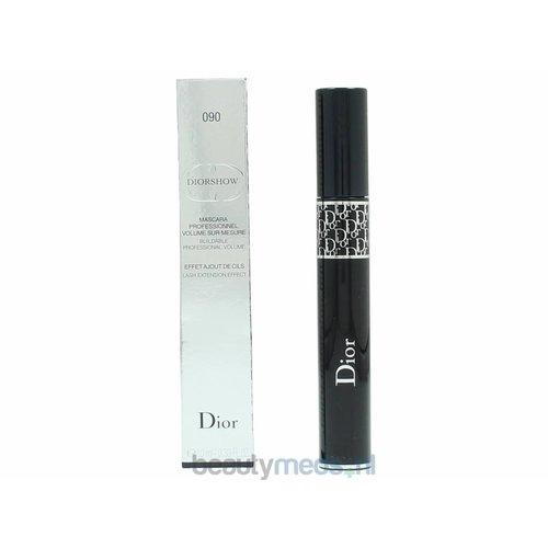 Dior Dior Diorshow Mascara Buildable Professional Volume (10ml) #090 Pro Black - Lash Extension Effect
