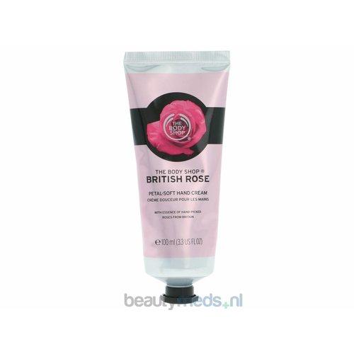 Bodyshop The Body Shop British Rose Petal-Soft Hand Cream (100ml)