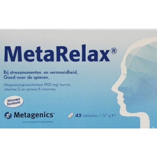 Metagenics Metagenics Metarelax (20st)