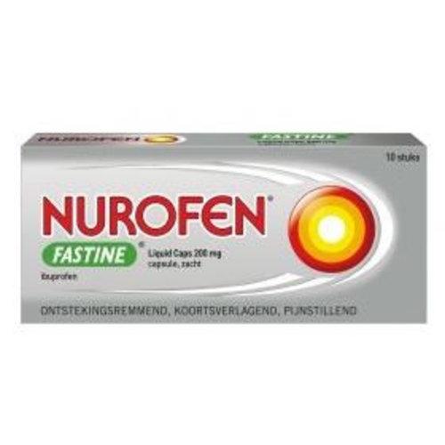 Nurofen Nurofen Fastine liquid caps 200 mg (10st)