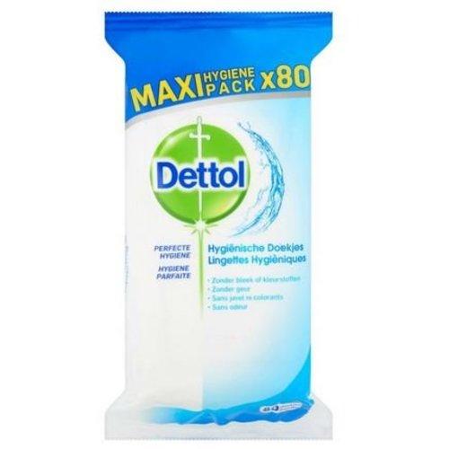 Dettol Dettol Hygienische schoonmaakdoekjes (80st)
