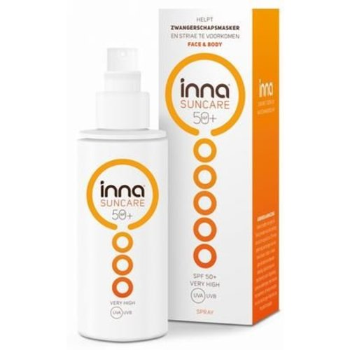 Inna Inna Suncare face & body spray sfp 50+ (150ml)
