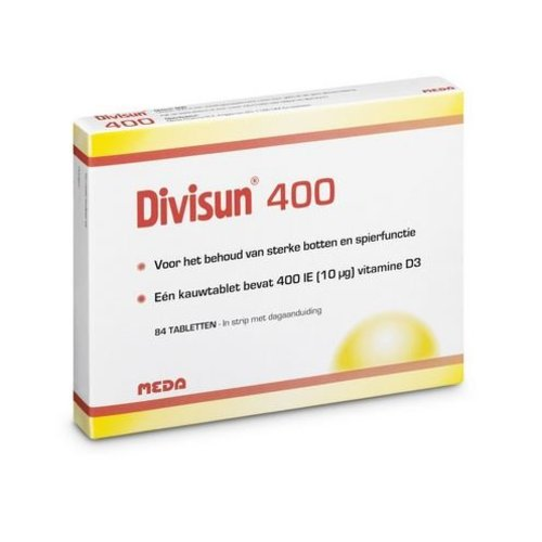 Divisun Vitamine D3 (Cholecalciferol) 400IE (300tb)