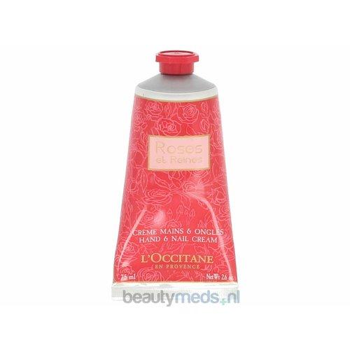 L'Occitane L'Occitane Rose Et Reines Hand & Nail Cream (75ml)