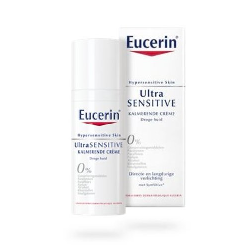 Eucerin Hypersensitive ult sens kalm creme rijke textuur (50ml)