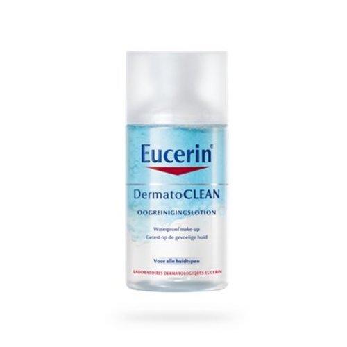 Eucerin Dermatoclean waterproof oog makeup reiniginglotion (125ml)
