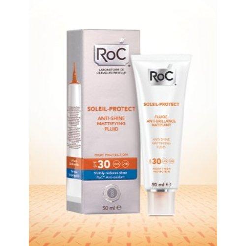 ROC ROC Soleil protect anti shine face fluid SPF 30 (50ml)