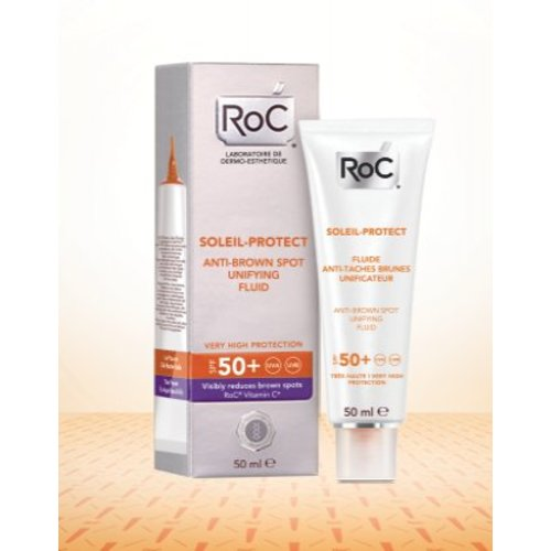 ROC ROC Soleil protection anti brown spots unifying 50+ (50ml)