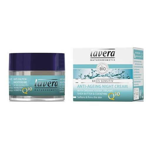 Lavera Lavera Night cream anti-ageing Q10 (50ml)
