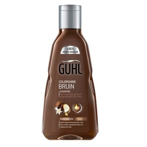 Guhl Guhl Shampoo colorshine bruin (250ml)