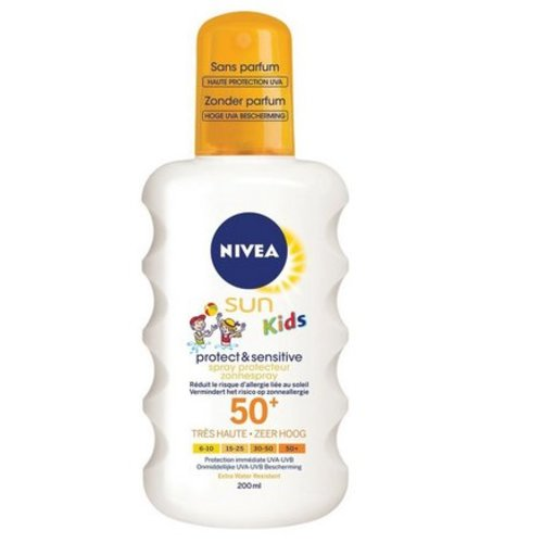 Nivea Nivea Sun protect & sensitive child spray SPF 50 (200ml)