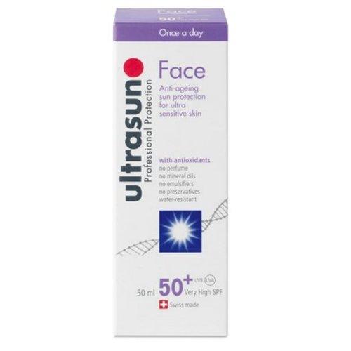 Ultrasun Ultrasun Face creme SPF 50+ (50ml)