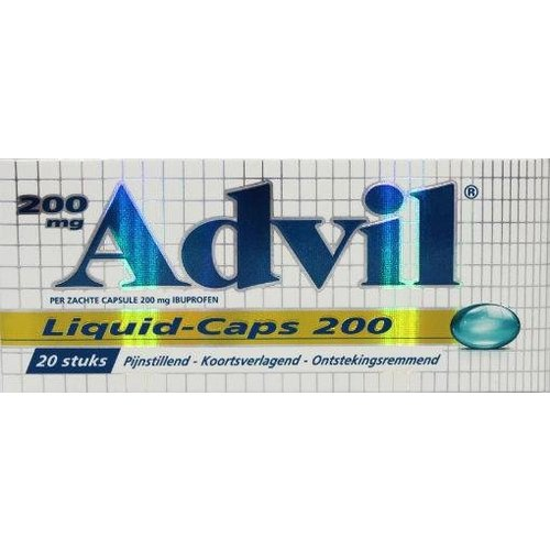 Advil Advil Advil liquid caps 200 (20ca)