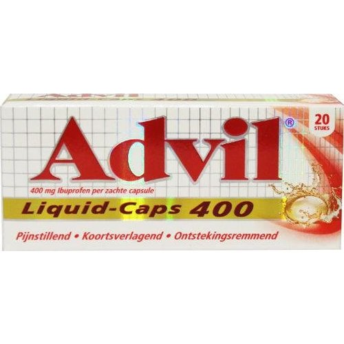 Advil Advil Advil liquid caps 400 (20ca)