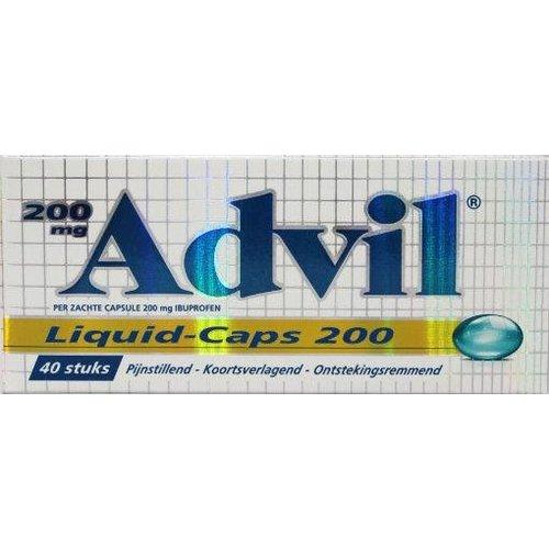 Advil Advil Advil liquid capsules 200 (40ca)