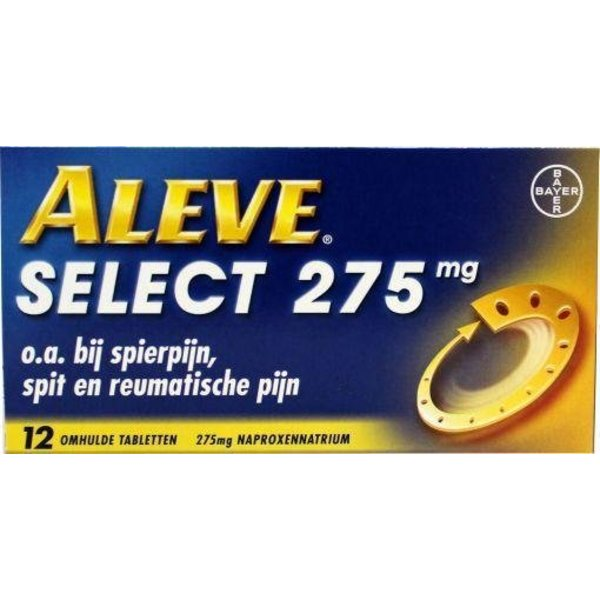 Aleve select 275 mg (12tb)