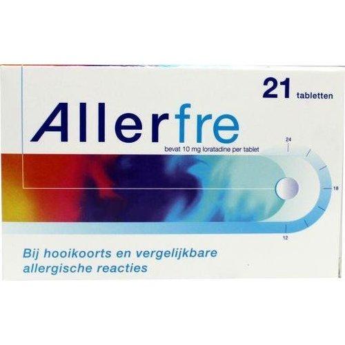 Allerfre Loratadine 10 mg (21tb)