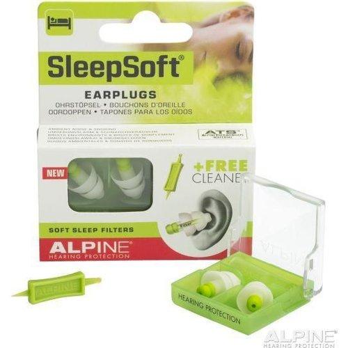 Alpine Alpine Sleepsoft oordopjes (1paar)
