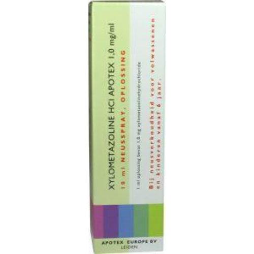 Apotex Apotex Xylometazoline HCI 1 mg spray (10ml)