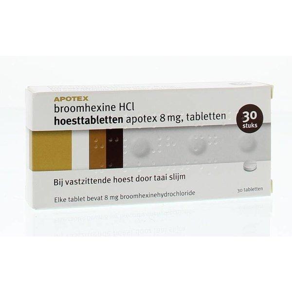 Broomhexine 8 mg (30tb)