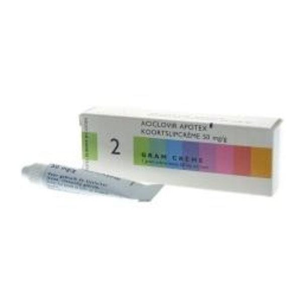 Aciclovir 50 mg/g (2g)