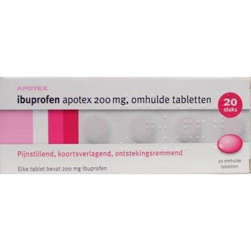 Apotex Ibuprofen 200 mg (20drg)