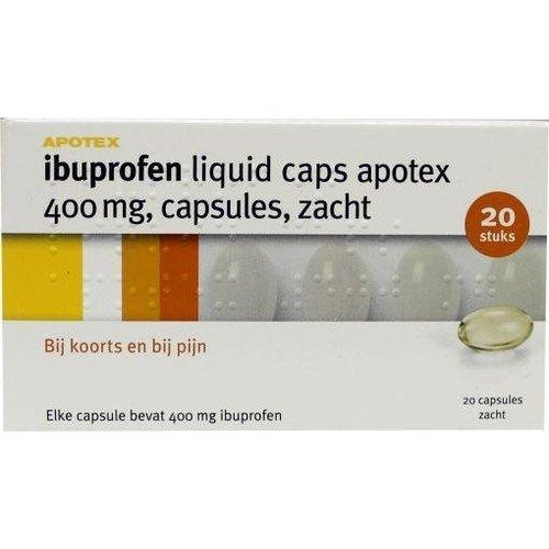 Apotex Apotex Ibuprofen 400 mg liquid (20ca)