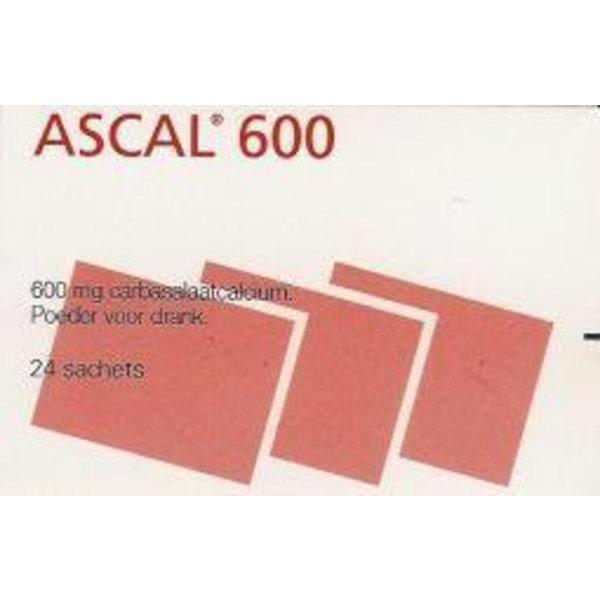 Carbasalaatcalcium 600 mg (24st)