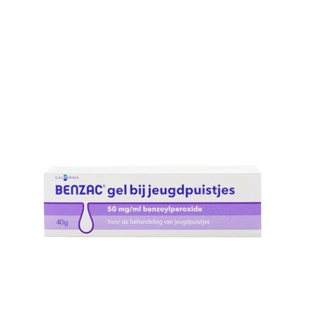 Benzac Gel 50mg/ml Benzoylperoxide (40g)