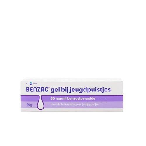 Benzac Benzac Gel 50mg/ml benzoylperoxide (40g)