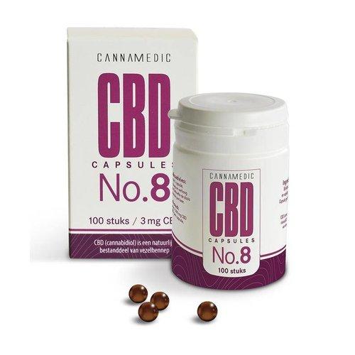Cannamedic Cannamedic CBD Capsules nr 8 3 mg (100ca)