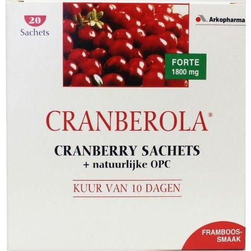 Cranberola Cranberola Cranberry & OPC 10-dagen kuur (20sach)