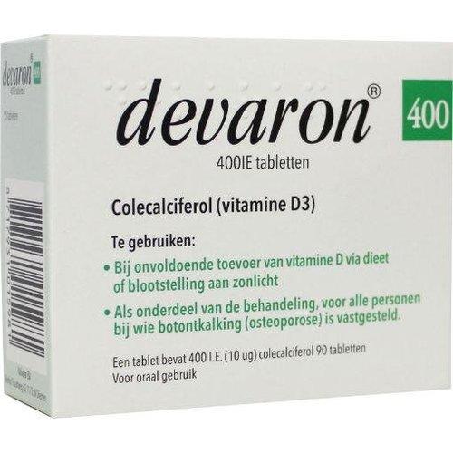 Devaron Vitamine D3 (Colecalciferol) (90tb)