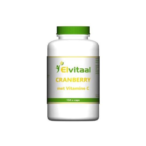 Elvitaal Elvitaal Cranberry + 60 mg vitamine c (150st)